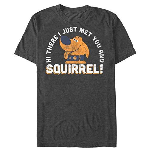 Fifth Sun Up Men's Dug Just Met You Squirrel Charcoal Heather T-Shirt