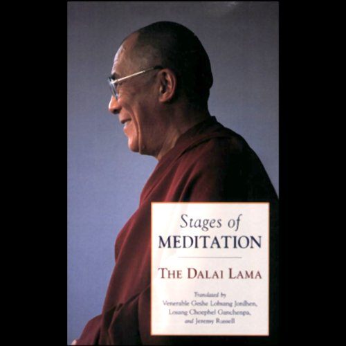 Stages of Meditation audiobook cover art