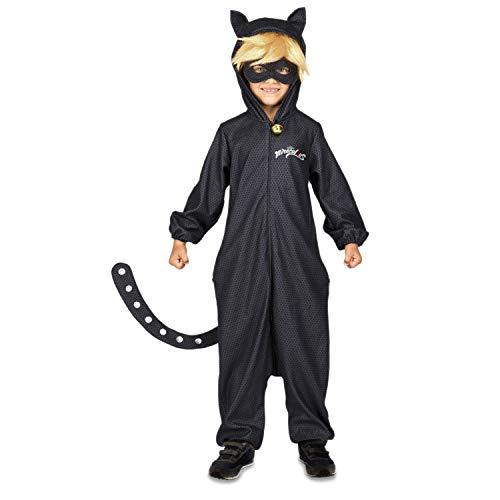 My Other Me Me Pigiama Lady Bug costume, colore nero (231431)