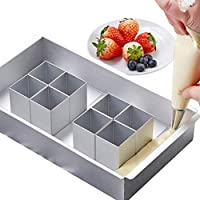 Aluminum Number Cake Pan Nonstick Adjustable DIY Letter Cake Mold Safe Silver Easy to Use …