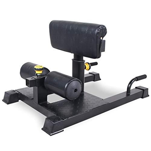 YUN HAI Home Gym Squat-Maschine Mehrzweck-3-en-1 Fitness Functional Core Training Trainingsgeräte Tief Sissy Kniebeugen, Beinübung, Bauchmuskeltraining for Haupt Cardio Gymnastik-Training