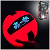 Glow in The Dark Outdoor Volleyball - LED Light up Volleyball - 100 Hour Battery Life