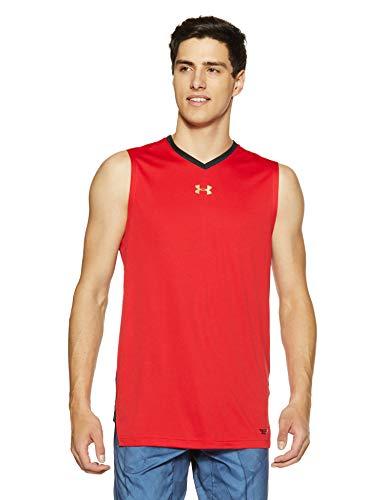 Under Armour Camiseta de Tirantes para Hombre, Hombre, 1305742, Rojo (600), S