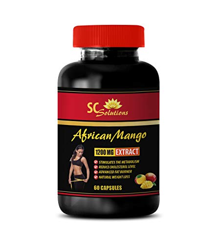 Weight Loss Pills for Menopause - African Mango Extract 1200MG - only Natural Ultimate African Mango - 1 Bottle (60 Capsules)