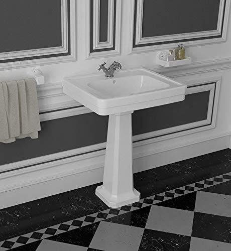 VALADARES NEOCLASSICA Lavabo Pedestal - Medida: 67x50 - Versión: Sin Pedestal