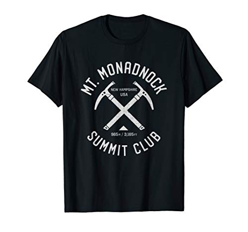 Mount Monadnock Summit Club | I climbed Mt Monadnock USA T-Shirt