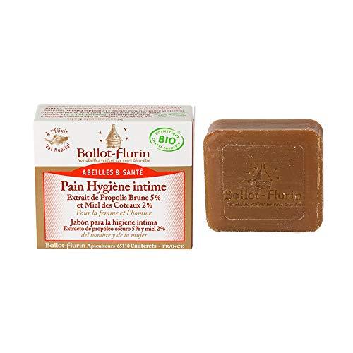 Ballot Flurin-Pastilla de jabón para la higiene íntima, 100g