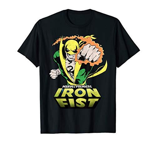 Marvel Iron Fist Punch Graphic T-Shirt