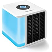 Evapolar Personal Evaporative Air Cooler and Humidifier/Portable Conditioner, White