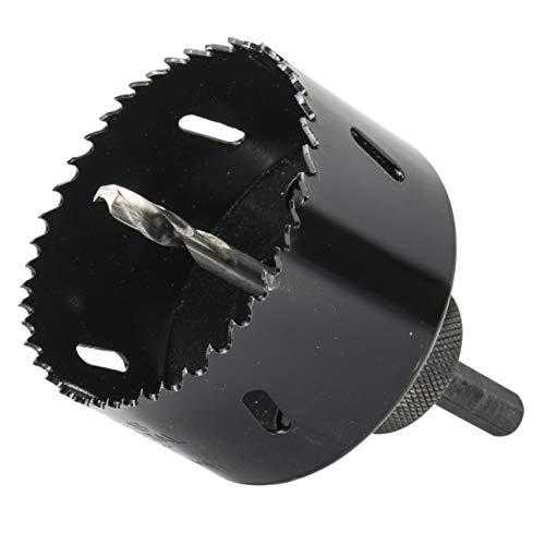 Gatfrees gatenzaag set opnamehouder HSS boor bimetaal voor inbouwspots stopcontacten enz. 68mm zwart