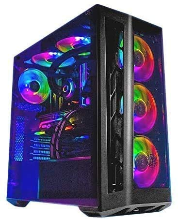 Hardital Pc Gaming Intel Core i9-10900K 10 Core 3.7-5.3GHz Ram 64GB SSD 1 TB HD 4TB Nvidia GeForce RTX 3090 24GB WI FI BT Windows 10 PRO ARGB
