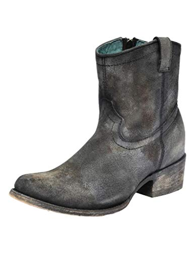 Corral Ld Grey Bootie ,Size 6
