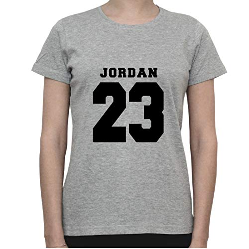 DreamGirl Basketball Memorabilia. NBA Inspired Artwork. Jordan 23 Womens T-Shirt Small