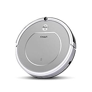 Fmart T1 Robot Aspirador de Limpieza del hogar Robot, Auto-Carga, Diseño para la Limpieza del Pelos de Mascota