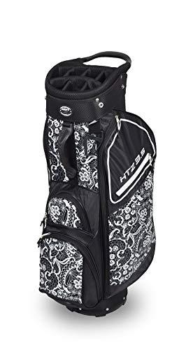 Hot-Z Golf Ladies Lace 3.5 Cart Bag Black/White