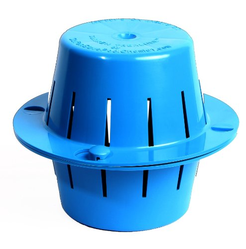 Sinking Floating Chlorine Dispenser | Uses LESS Chlorine | Sinks - Cleans Pool Water - Then Floats for Refilling | Sunken Treasure (Light Blue)