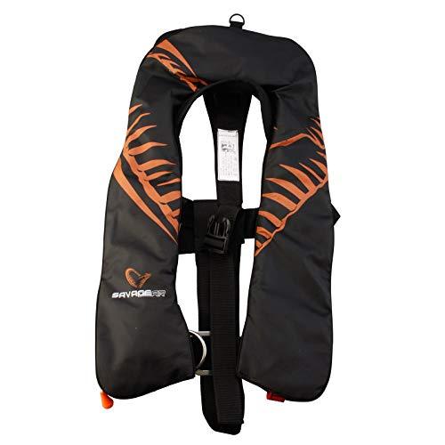 Savage Gear Live Vest Automatic 150N Schwimmweste schwarz
