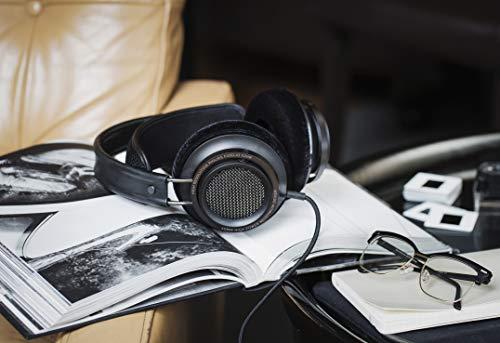 PHILIPS Fidelio X2HR/00 Cuffie Sovraurali, Cuffie Hi Res, Audio ad Alta Risoluzione, Driver al Neodimio da 50 mm, Cancellazione del Rumore, Cuscinetti Deluxe in Schiuma Memory, Clip per Cavo, Nero
