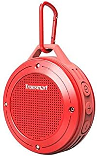 Tronsmart Element T4 Bluetooth 4.2 Wireless IP67 Waterproof Outdoor Portable Speaker RED