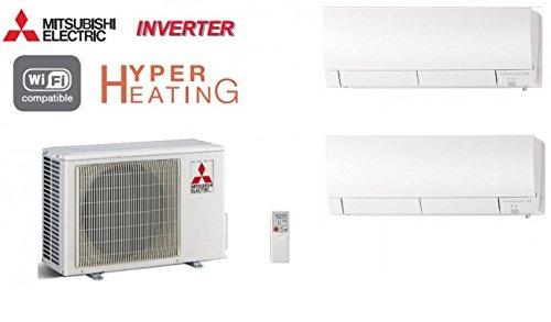 Acondicionadores de aire Mitsubishi 2-split inversor Hyper