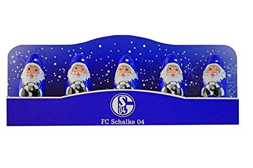 Schalke 04 Weihnachtsmänner 5er Pack Nikoläuse S04