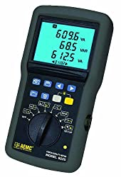 AEMC 8220 1-Phase Power Quality Analyzer with 5A/100A Current Probe