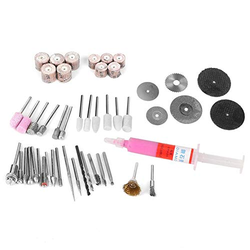 Abrasive Tool, Smoothly High Abrasion Resistance 48Pcs Electric Grinder Accessory Set, for Electric Pneumatic
