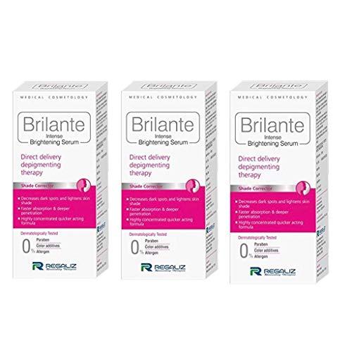 REGALIZ Brilante Intense Brightening Serum, 30 ml -Combo of 3 Pieces