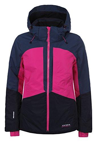 Ice Peak Kate Damen Skijacke M Cranberry