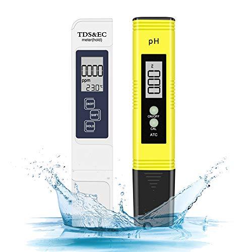 Eletorot Medidor de pH Digital, Electrónico Medidor PH tds y Cloro Piscinas...