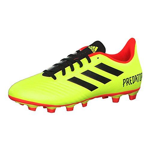 adidas Herren Predator 18.4 Fxg Fußballschuhe, Gelb (Amasol/Negbás/Rojsol 000), 41 1/3 EU