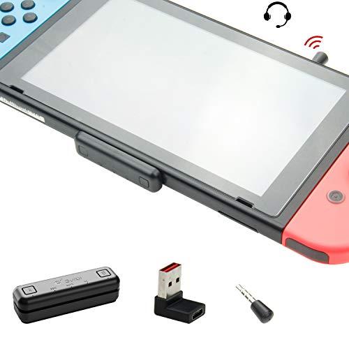 GuliKit Route Air PRO Adattatore Bluetooth per Nintendo Switch/Lite PS4 PC, Trasmettitore Ricevitore...