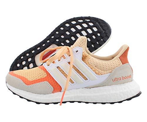 adidas Women's Ultraboost X Running Shoe, Carbon/Crystal White/core Black, 10.5 M US