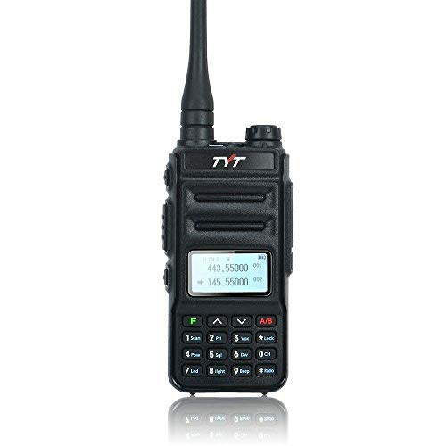 TYT TH-UV88 Two Way Radio Dual Band VHF/UHF Walkie Talkie with Programming Cable and Software