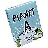 Planet A - Das nachhaltige Kartenspiel. Gemeinsam die Welt retten. Ein unterhaltsames, kooperatives Spiel mit 105 einzigartigen Illustrationen. 2-5 Spielende. Die Neuheit 2020