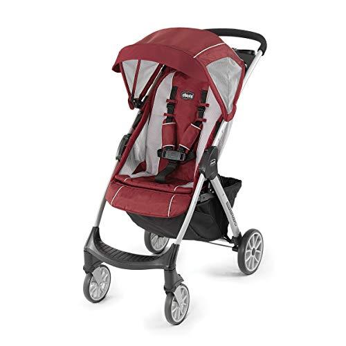 Chicco Mini Bravo Lightweight Stroller - Chili, Red