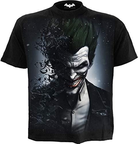 DC Comics - Joker - Arkham Origins - Camiseta - Negro - M