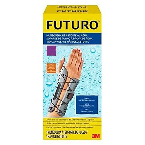 Futuro UU008565481 UU008565481-Muñequera Sport, Resistente al Agua Man, izquerda, S/M, Multicolor, Unisex Adulto