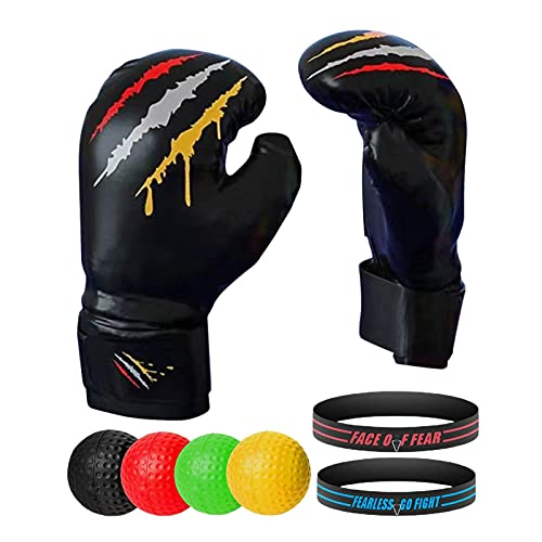 flyingx Boxen Training Ball Boxing,ideal für das Training von Reflex, Reaktion und Auge-Hand-Koordination,13.5811.224.02inch