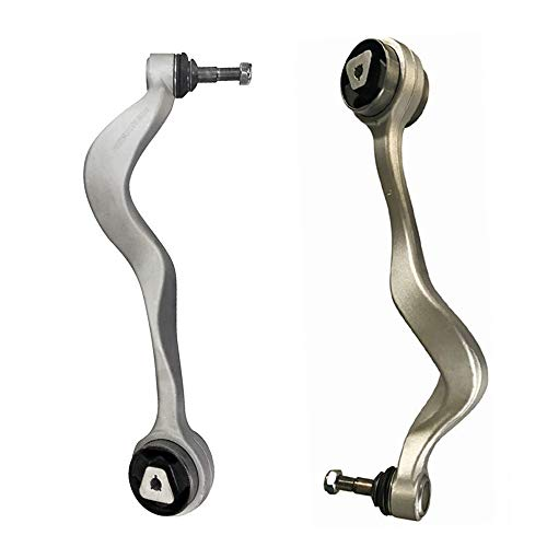 BRTEC Front Lower Control Arms with Ball Joint for 2004 2005 2006 2007 for BMW 525i 2008 2009 2010 for BMW 528i(530i 530xi 535i 535iGT 545i 550i 550iGT) 06 07 08 09 10 for BMW M5 Lower Control Arms