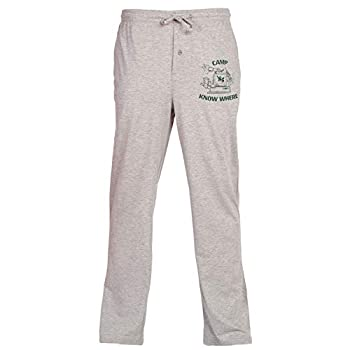 Mad Engine Stranger Things Camp Know Where Adult Lounge Pants - Heather Grey  XXX-Large