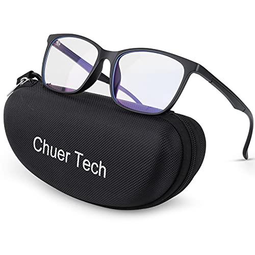 Gafas Filtro Luz Azul Ordenador, Gafas Gaming Proteccion Azul Gafas de Lectura, Gafas sin Graduar Gafas Vista Cansada Hombre Mujer para Protege Ojos de Luz Azul de Ordenador/Móvil/Video Juegos