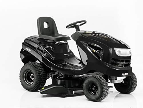 AL-KO Rasentraktor T 18-111.9 HDS Black Edition, Seitenauswurf ohne Fangbox, 110 cm Schnittbreite, 9.5 kW Motorleistung, Antrieb über Fußhydostat (stufenlos)