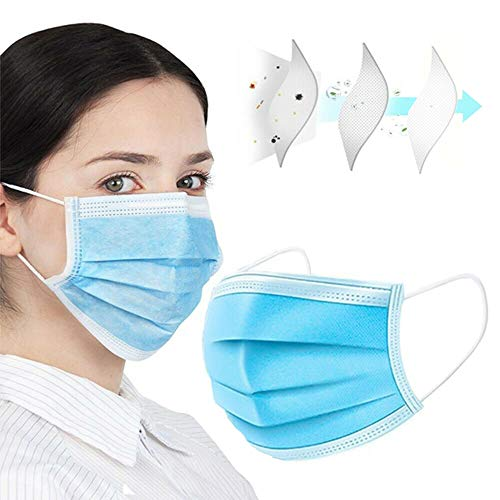 NEWMARK 50pcs Dr.Family Face ᴍᴀsᴋ for Air Pollution, Dustproof Mouth Cover, Men Women Adult Child 3-ply Safety ᴍᴀsᴋ from USA