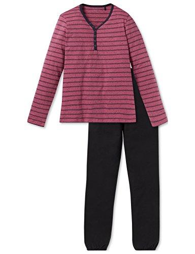 Schiesser Kinder-Schlafanzug Single-Jersey Bordeaux Größe 176