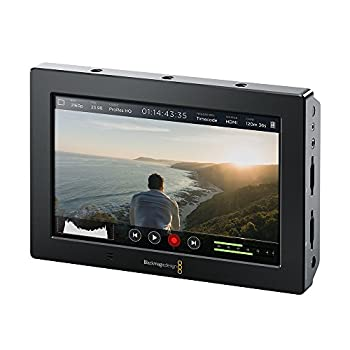 Blackmagic Design Video Assist 4K 7  High Resolution Monitor with Ultra HD Recorder