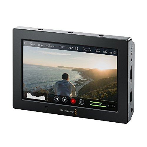 Blackmagic Design Video Assist 4K, 7' High Resolution Monitor with Ultra HD Recorder