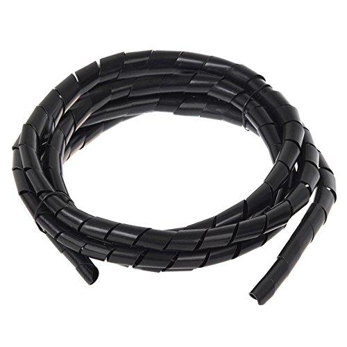 Maclean - Espiral para Cables Organizador Longitud: 3 Metros Diámetros: 6, 10, 16, 22mm (MCTV-687 B (20.4 * 22mm))