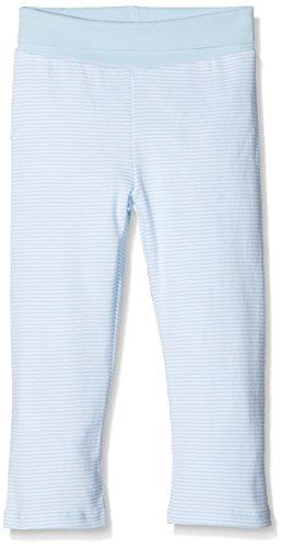 Steiff Unisex - Baby Hose Normaler Bund, gestreift 0006606, Gr. 56, Blau (3023)