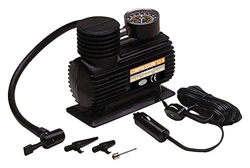 Saife 240426 Compressor 12 V met manometer en stopcontact